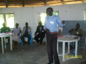 ERC Peter assisting facilitation