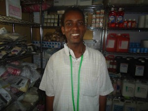 AT IDAT clinic pharmacy store in September 2011