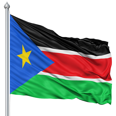 Flag of of South Sudan
